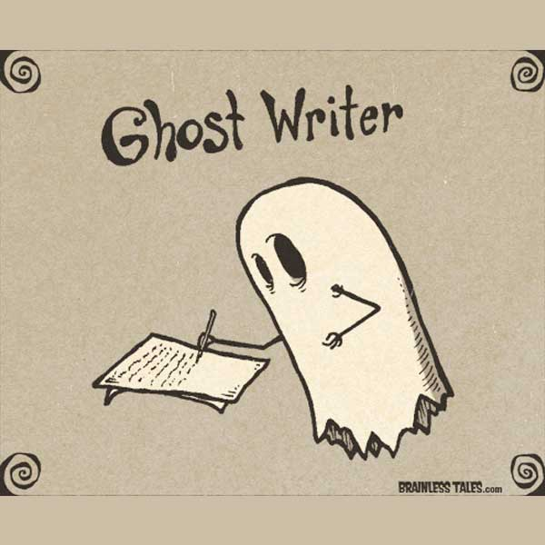 The Disappearing Act: A Brief History of Ghostwriting in Semi-Chronological Order, Part I